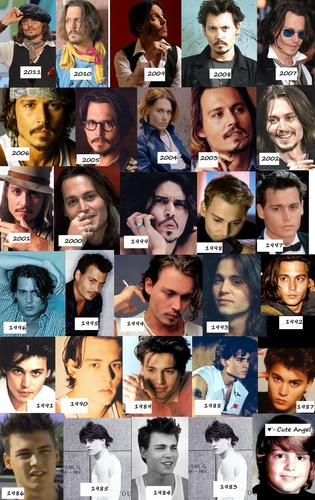 johnny depp wallpaper entitled 1983-2011