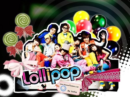 2NE1 AND BIGBANG - LOLLIPOP