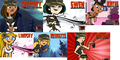 ARMY GIRLS VOTE WHICH ONES THE BEST!!! :D - total-drama-island fan art