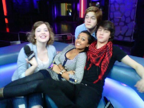 Aislinn,Melinda,Munro,and Justin