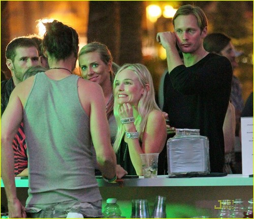 Alexander Skarsgard & Kate Bosworth: Coachella Couple!
