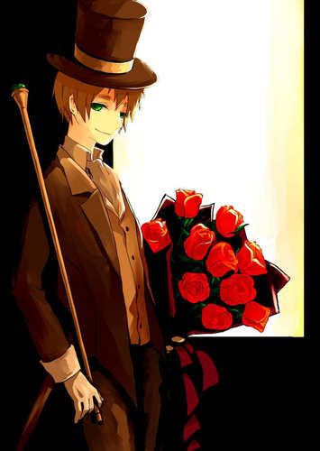 Hetalia: England wallpaper possibly containing a green beret called Arthur