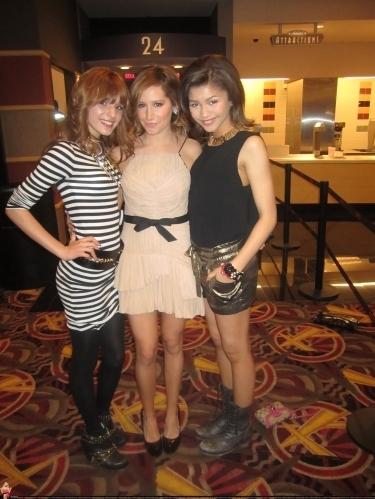 Ashley @ Sharpay's Fabulous Adventure Toronto Premiere