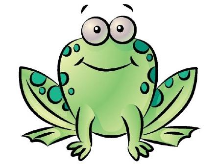 Awwww cute frog