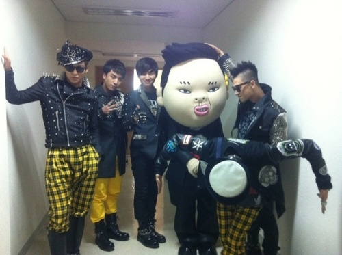 BIGBANG AND PSY