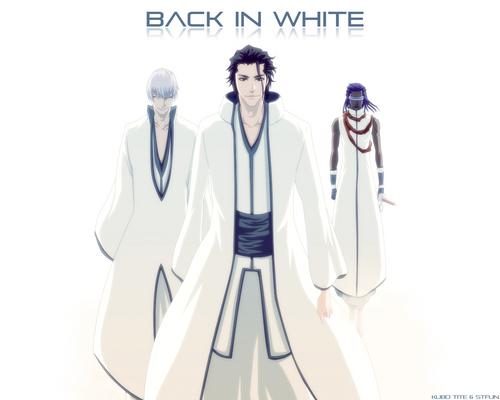 Back in white epic