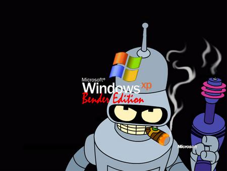 Bender 바탕화면