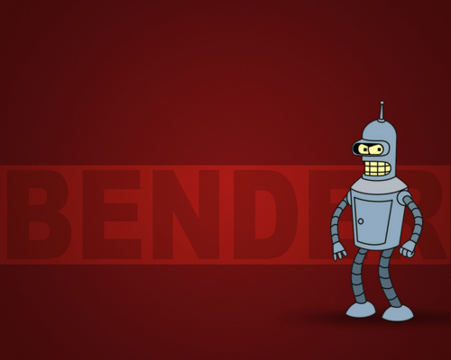 Bender 壁纸
