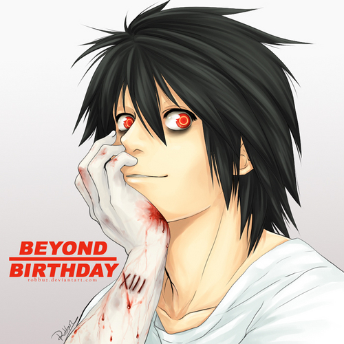 Beyond Birthday wallpaper entitled Beyond birthday bb