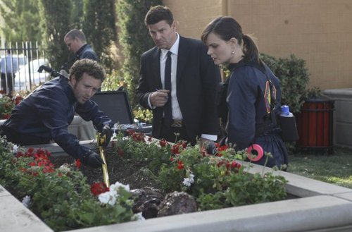 "Bones ""The Pinnochio in the Planter"" Promotional foto's"