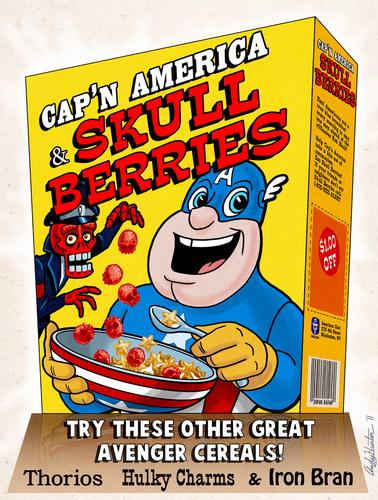 Cap'n America cereal