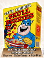 Cap'n America cereal - the-avengers fan art