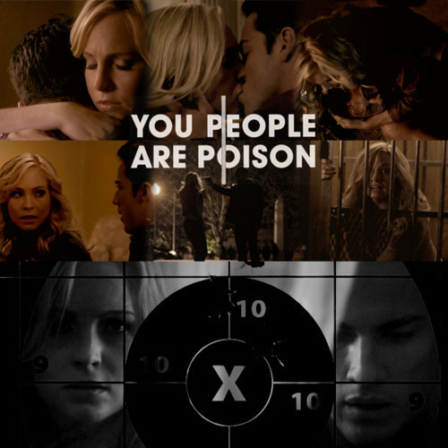"Caroline/Tyler (4wood) Cinta Them 2gether (Wolfvamp) ""U People R Like Poison"" 100% Real ♥"
