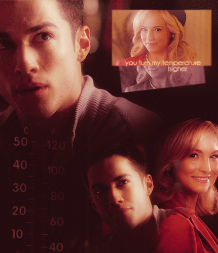 Caroline/Tyler (4wood) upendo Them 2gether (Wolfvamp) U Turn My Temperature Higher! 100% Real :) ♥