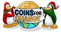 Coins for Change penguins