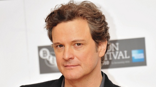 Colin Firth fond d'écran with a business suit and a portrait titled Colin Firth <3