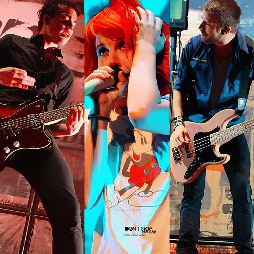 Collage Paramore