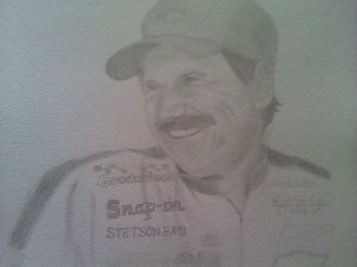 Dale Earnhardt original art