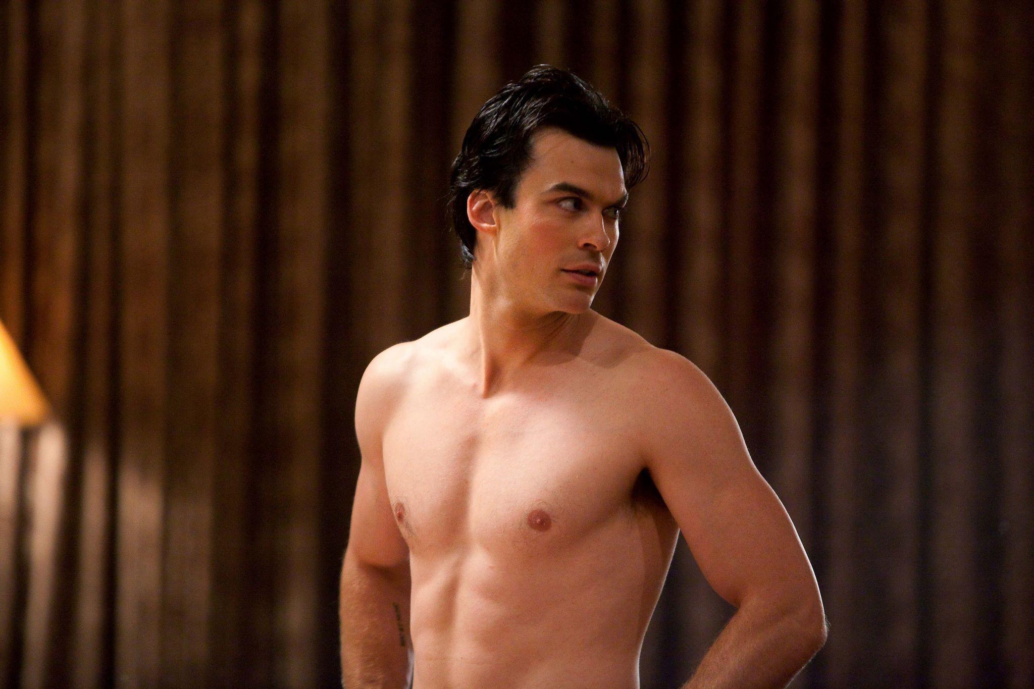 Tvdrocks Images Damon Salvatore Shirtless Hd Fond Décran And