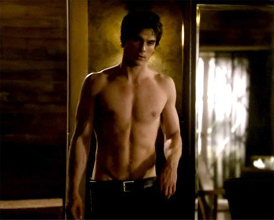 Damon Salvatore shirtless ♥