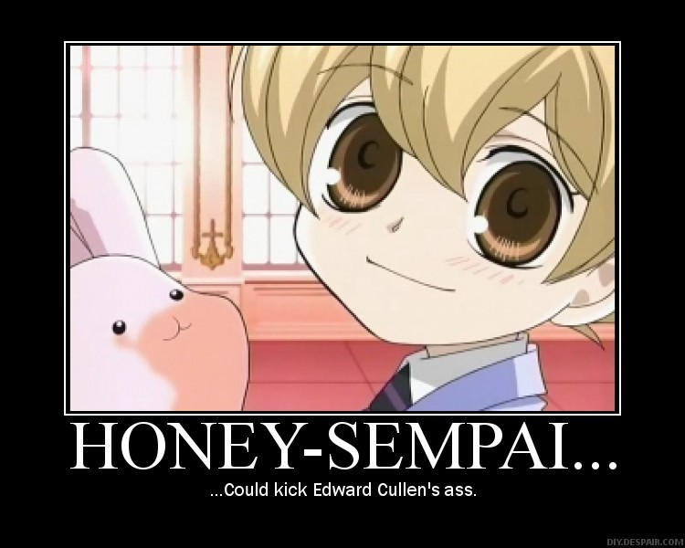 Anime demotivational poster