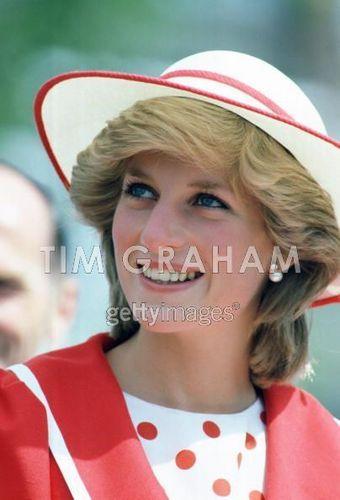 Diana visits St.John's