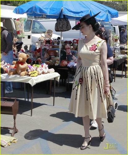 Dita Von Teese: Flea Market with a Friend