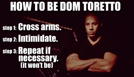 Fast And Furious Bilder How To Be Dom Toretto Hintergrund And