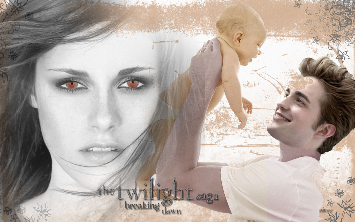Edward - Bella - Renesmee ♥ - twilight-series wallpaper