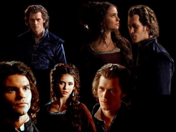 Elijah, Katerina Petrova ,Klaus