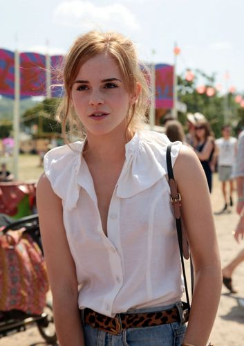 Emma at Glastonbury 音乐 Festival ., 26.06.2010
