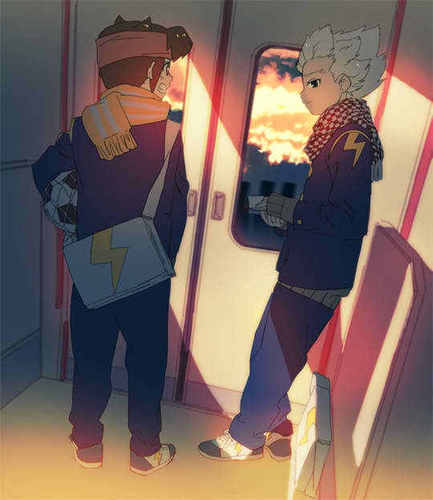 Endou & Gouenji