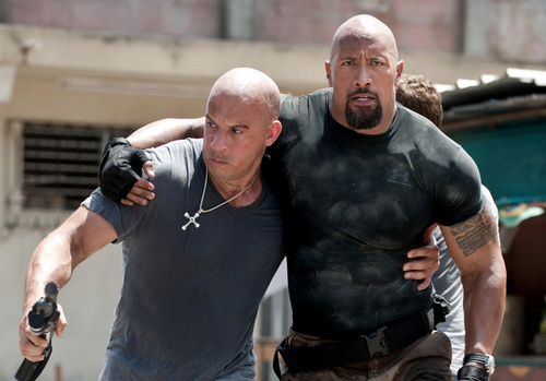 Fast and Furious images Fast Five - Dom & Hobbs HD wallpaper and background photos