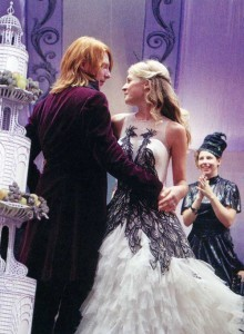 Fleur Delacour and Bill Weasley wedding