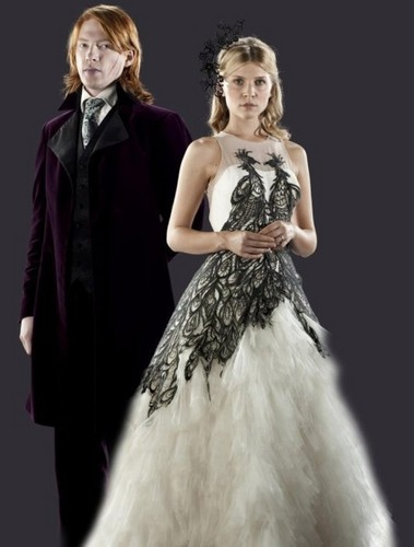 Fleur Delacour with Bill Weasley promo - fleur-delacour Photo