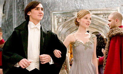 Fleur Delacour with Roger Davies at Yule Ball