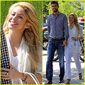 Gerard Piqué and Shakira as wedding bức ảnh