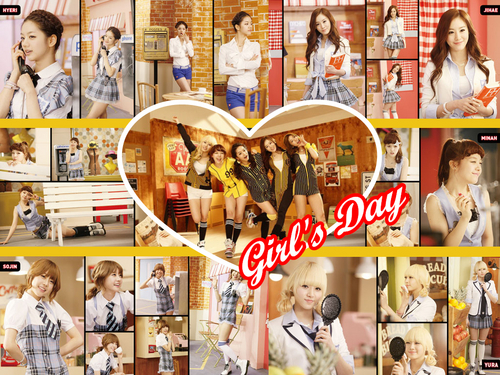 Girl's Day_Twinkle Twinkle Compo