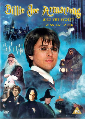 Harry Potter Vs. Twilight wallpaper containing anime called Green Day Meets Harry Potter