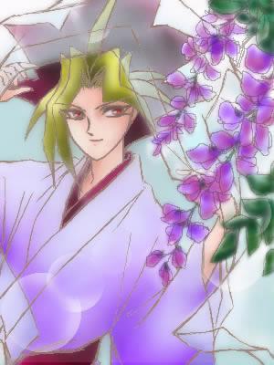 Handsome Yami Yugi