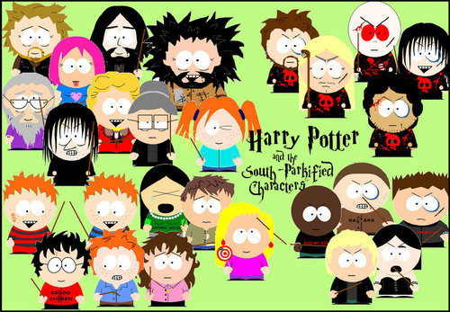Harry Potter south park version