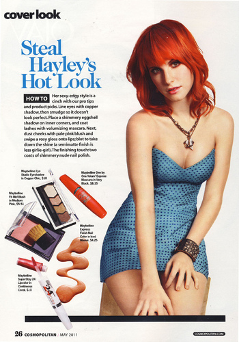 Hayley Williams (Cosmopolitan scans)