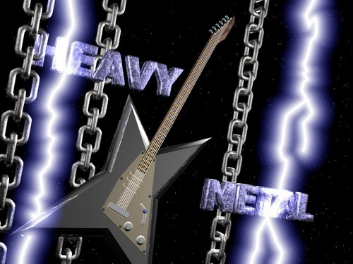 Metal wallpaper called Heavy Metal Wallpaper