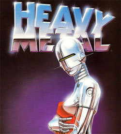 Metal wallpaper titled Heavy Metal