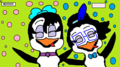 Icicle and Lilly - icicle-the-penguin fan art