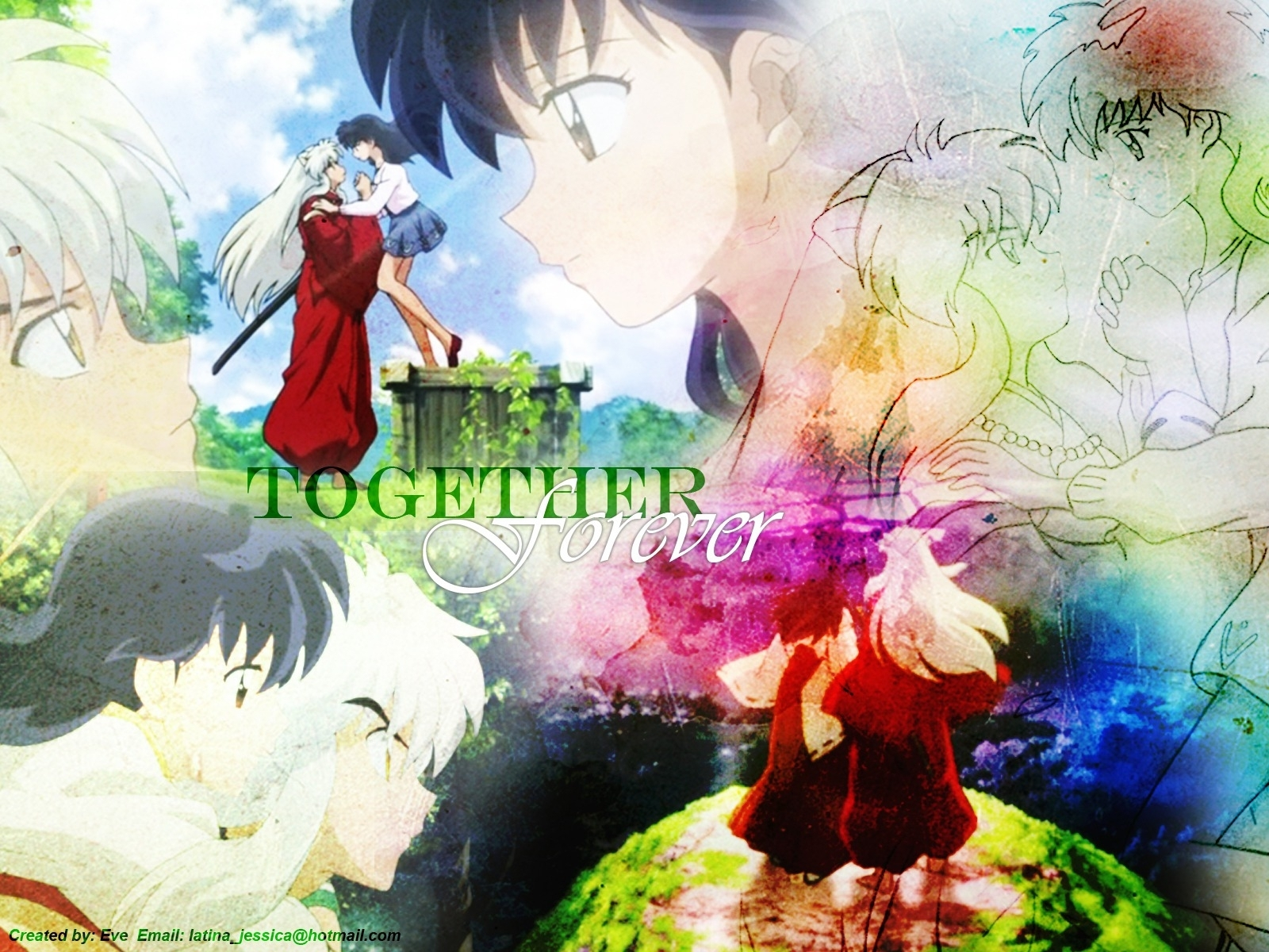 Inuyasha And Kagome The Final Act Wallpaper