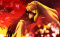 Inuyasha and Kikyou - inuyasha-the-final-act wallpaper