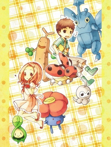 Izzy and Mimi find Pokemon