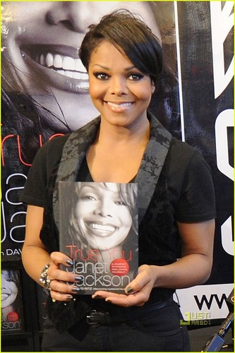 Janet Jackson: 'True You' Signing in West Hollywood!