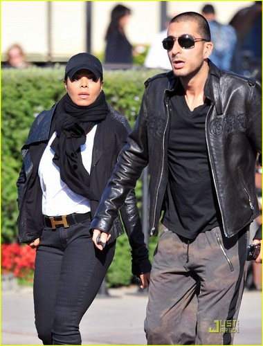 Janet Jackson & Wissam Al Mana: Lunch Lovers